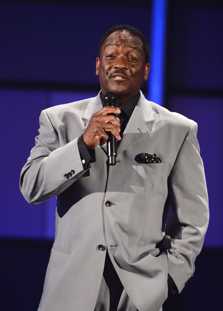Presenter Donnie Simpson speaks onstage during the 2012 BET Awards at The Shrine Auditorium on July 1, 2012 in Los Angeles