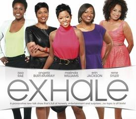 exhale (logo & cast)