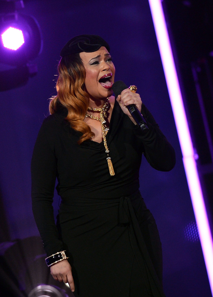 Singer Faith Evans is 40 today