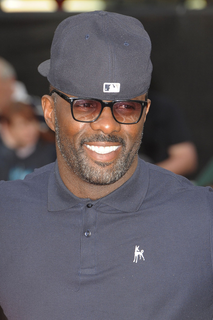 Idris Elbar arrives for the UK premiere of 'World War Z', held at London's Leicester Square. (June 2, 2013)