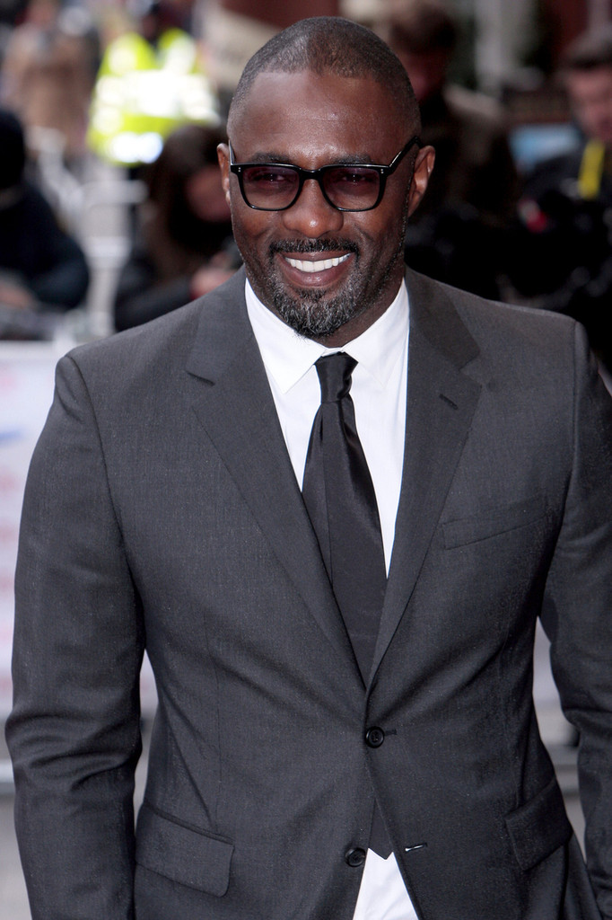 Idris Elba attends the Prince's Trust Celebrate Success Awards at Odeon Leicester Square in London. (March 26, 2013)