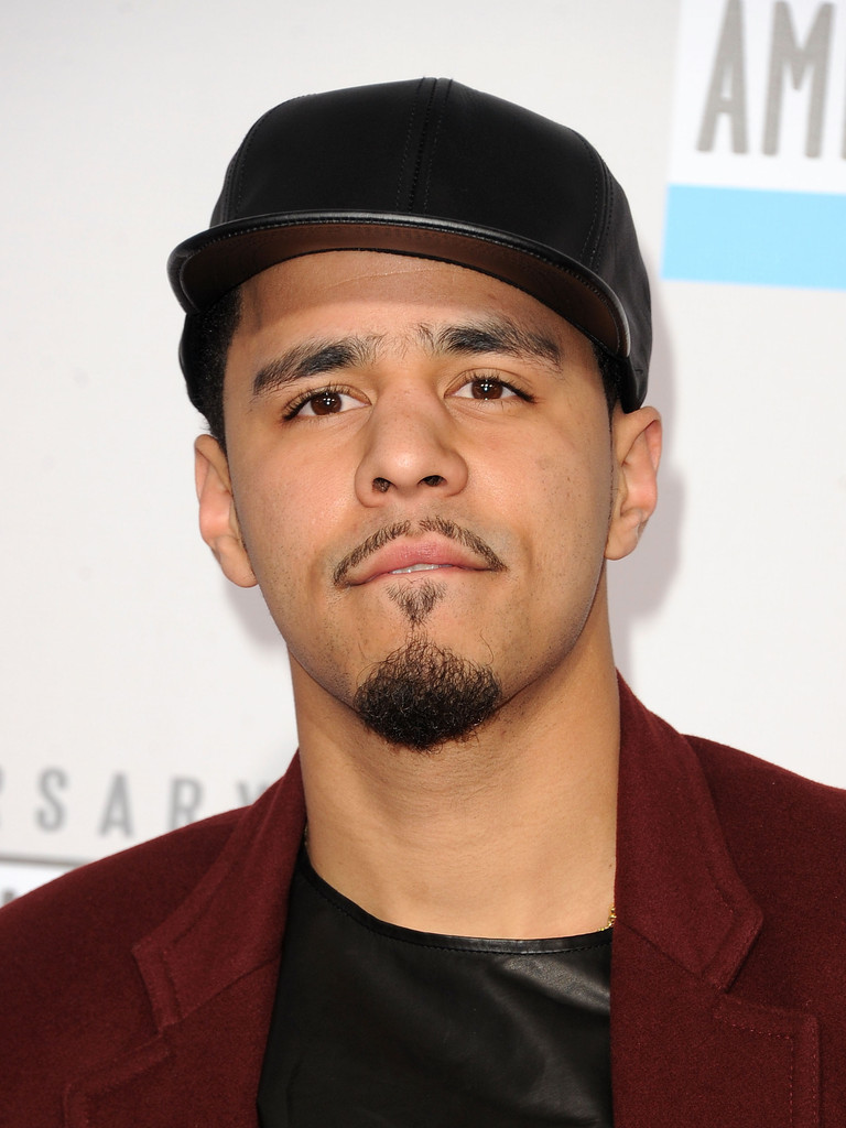 Recording artist J. Cole attends the 40th American Music Awards held at Nokia Theatre L.A. Live on November 18, 2012 in Los Angeles