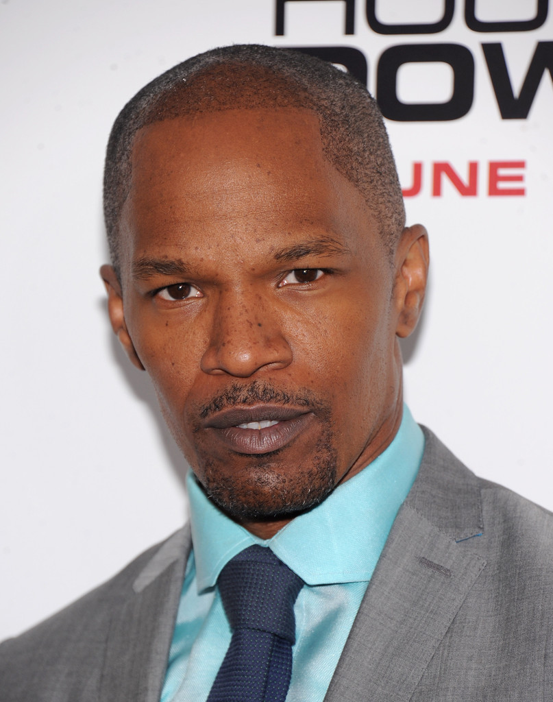 "Actor Jamie Foxx attends ""White House Down"" New York Premiere at Ziegfeld Theater on June 25, 2013 in New York City"