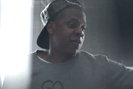 "Jay-Z in Samsung's ""Magna Carta Holy Grail"" spot ""4 More"""