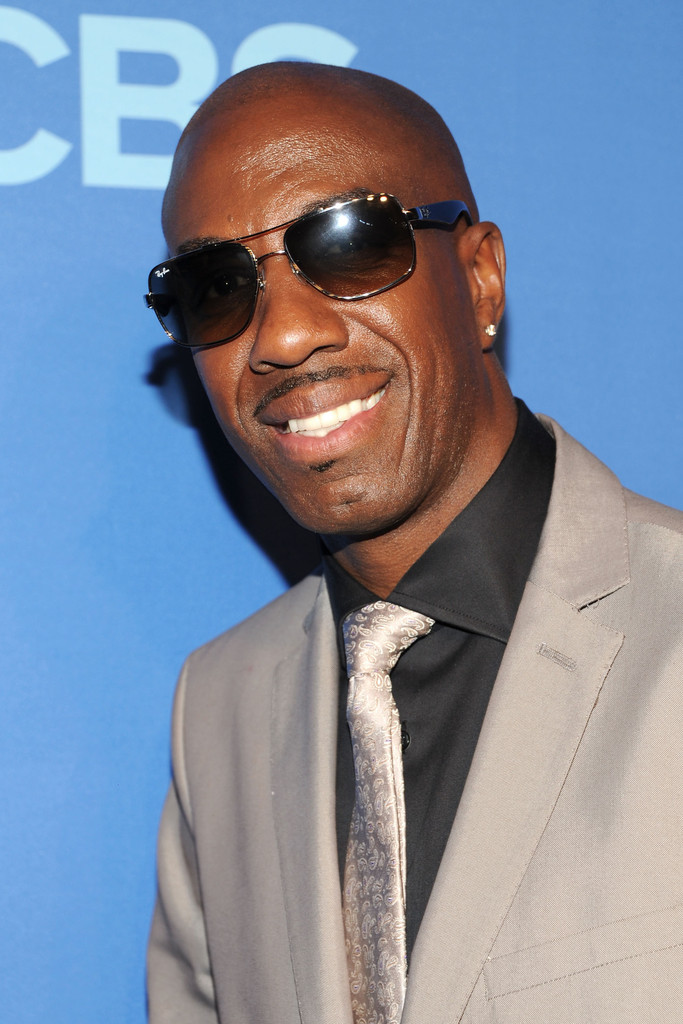 JB Smoove attends the CBS 2013 Upfront Presentation at The Tent at Lincoln Center on May 15, 2013 in New York City