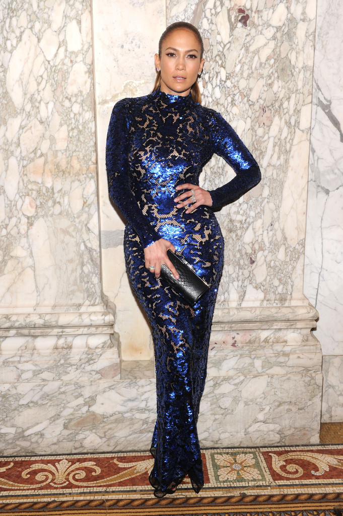 Jennifer Lopez attends the 4th Annual amfAR Inspiration Gala New York at The Plaza Hotel on June 13, 2013 in New York City