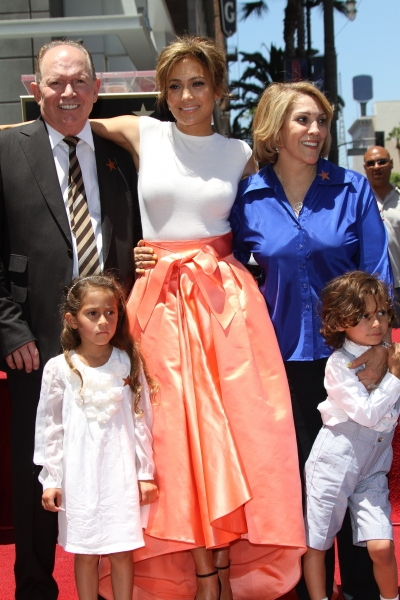 mother Guadalupe Rodriguez, father David Lopez and children Emme Anthony and Max Anthony