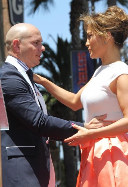 Jennifer Lopez with Pitbull