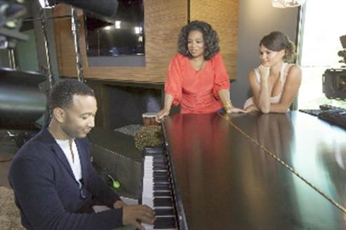 john legend and oprah and chrissy