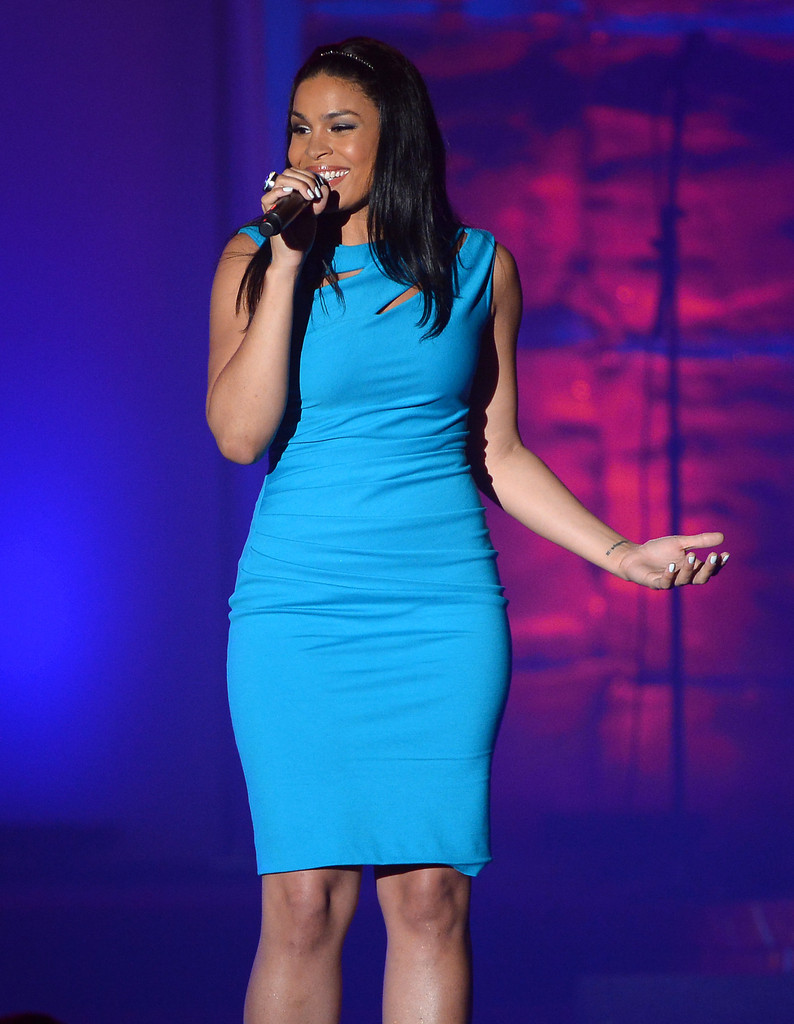Jordin Sparks performs at the Songwriters Hall of Fame 44th Annual Induction and Awards Dinner at the New York Marriott Marquis on June 13, 2013 in New York City