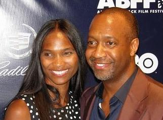 Founder ABFF, Jeff Friday and wife, Nicole