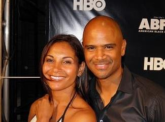 Salli Richardson-Whitfield and Dondre' Whitfield