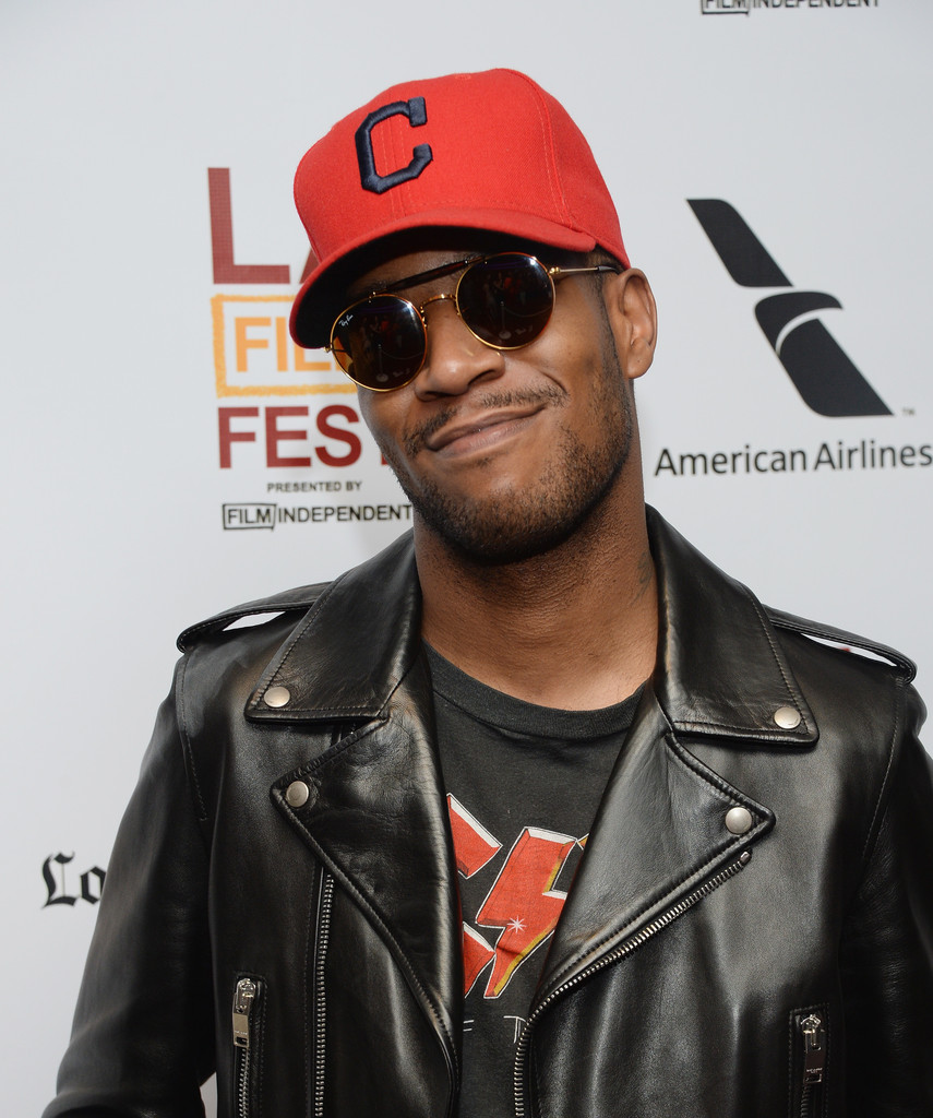 "Recording Artist Kid Cudi attends the 2013 Los Angeles Film Festival Premiere Of ""Goodbye World"" at Regal Cinemas L.A. Live on June 15, 2013 in Los Angeles"