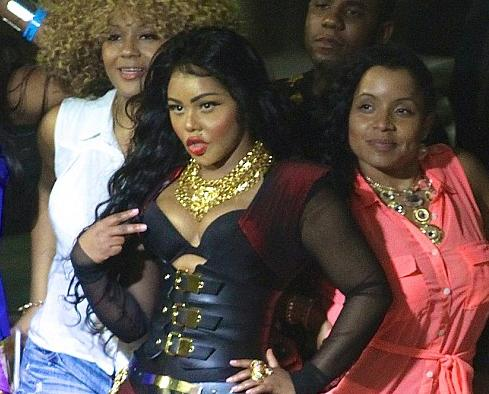 lil kim at summer jam