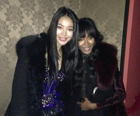 luo zilin & naomi campbell