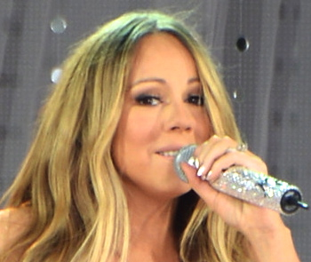 mariah carey closeup
