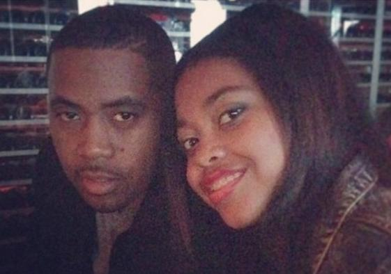 nas and daughter