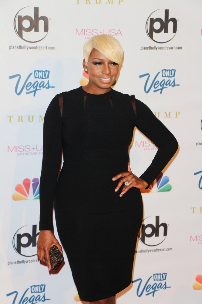 NeNe Leakes arrives at the Miss USA Pageant held at the Planet Hollywood Resort & Casino in Las Vegas on June 16, 2013.