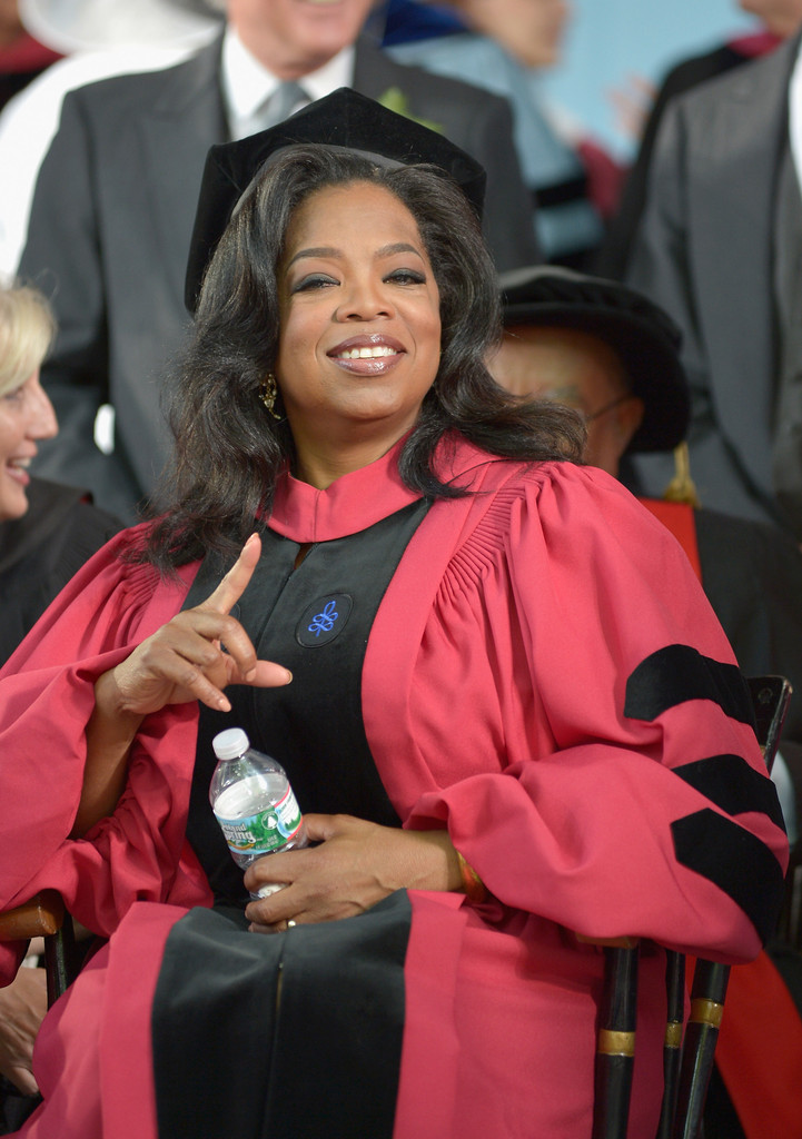 Oprah Winfrey receives an Honorary Doctor of Laws Degree at 2013 Harvard University 362nd Commencement EXercises at Harvard University on May 30, 2013 in Cambridge, Massachusetts