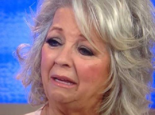 paula deen (crying)