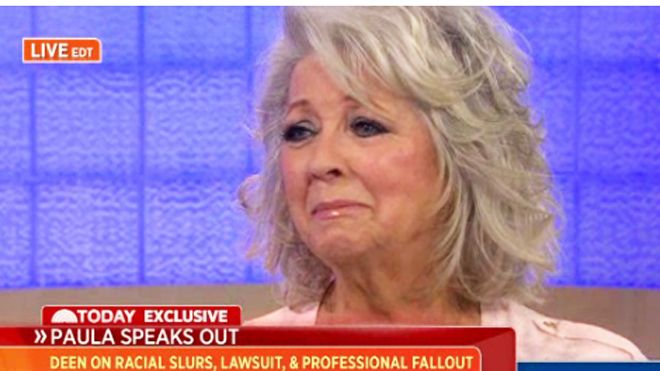 paula deen (today show crying)