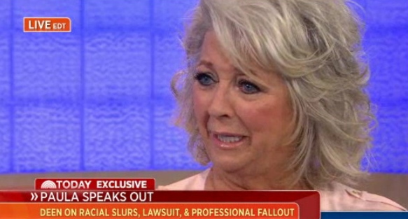 paula deen today show