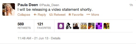 paula deen tweet jpg