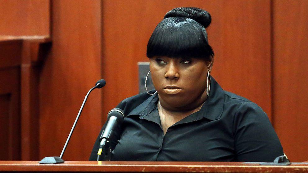 Rachel Jeantel testifies