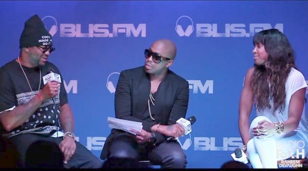 The Dream, Raheem DeVaughn and Kelly Rowland