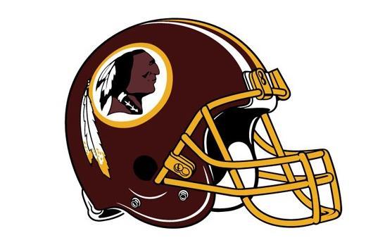 redskins helmet & logo