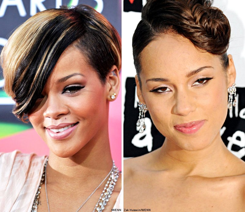 rihanna alicia keys