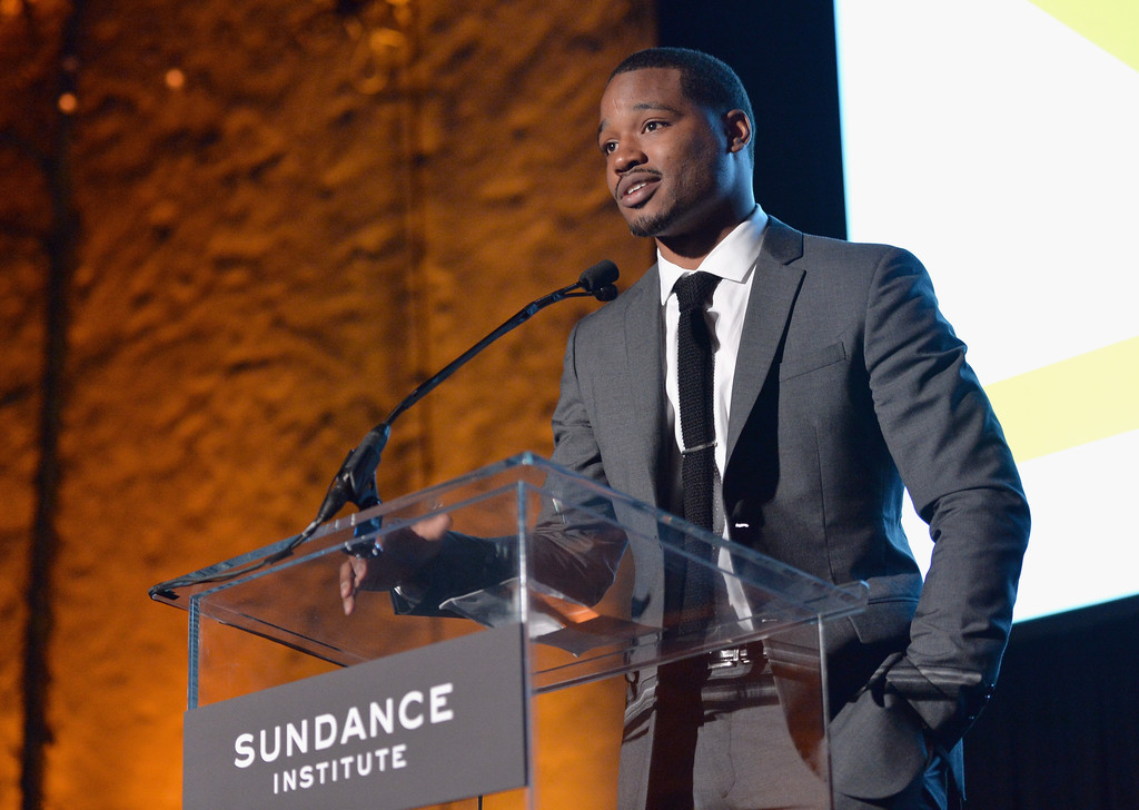 Director Ryan Coogler accepts the Vanguard Award onstage at the 2013 Celebrate Sundance Institute Los Angeles Benefit hosted by Tiffany & Co. at The Lot on June 5, 2013 in West Hollywood
