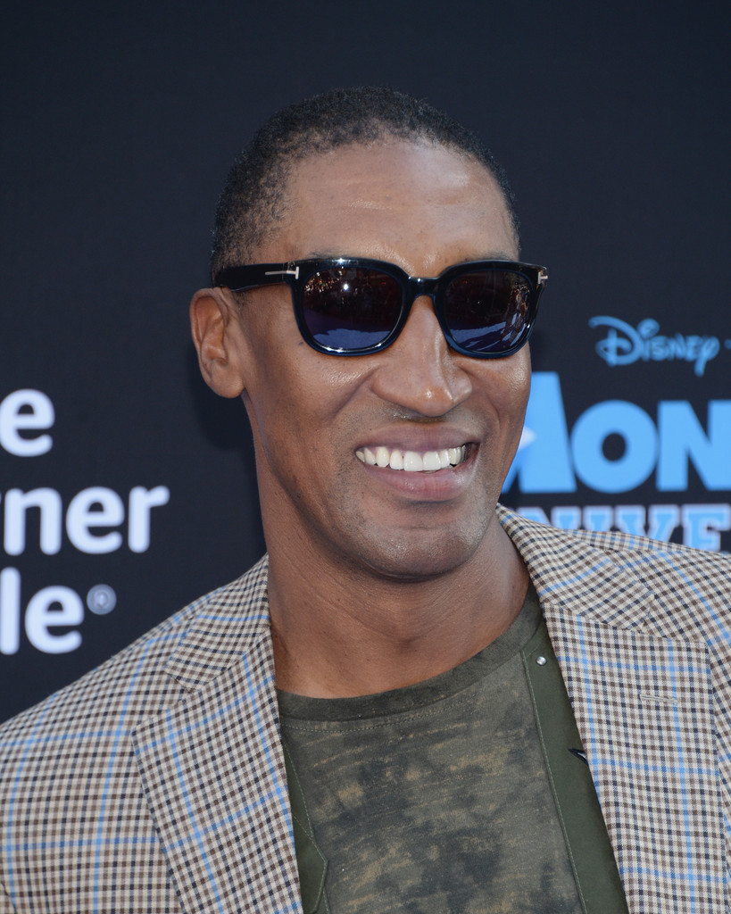 Athlete Scottie Pippen attends the premiere of Disney Pixar's 'Monsters University' at the El Capitan Theatre on June 17, 2013 in Hollywood