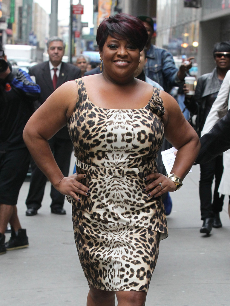 Sherri Shepherd appears on ABC's Good Morning America to promote her new book 'Plan D' a guide for losing weight and beating diabetes in New York City. (April 30, 2013