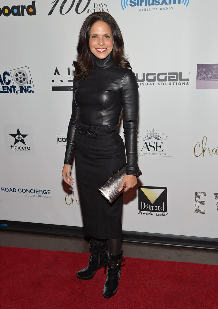 Broadcast journalist Soledad O'Brien attends Chaka Khan's Birthday Party on March 26, 2013 in New York City