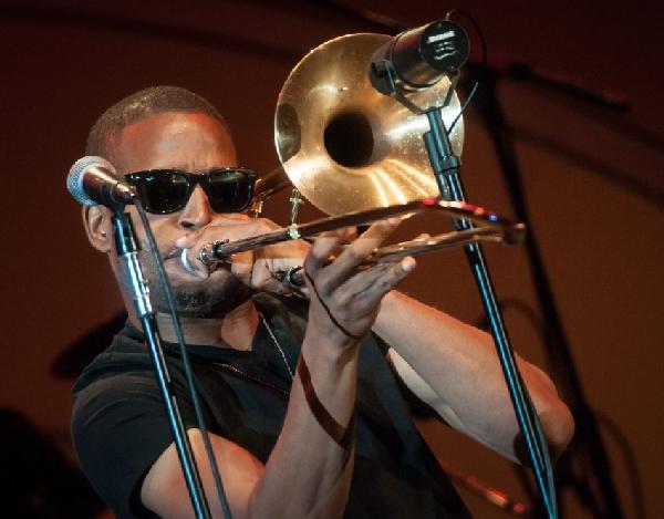 trombone shorty at hollywood bowl