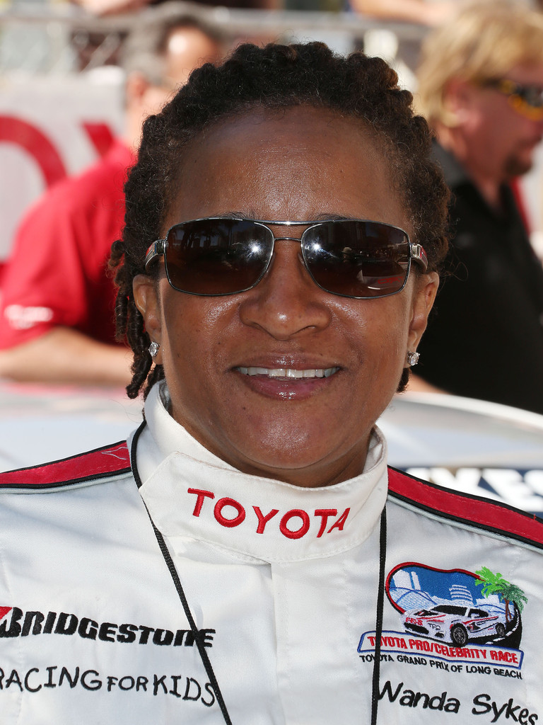 Actress Wanda Sykes attends the 37th Annual Toyota Pro/Celebrity Race practice on April 19, 2013 in Long Beach