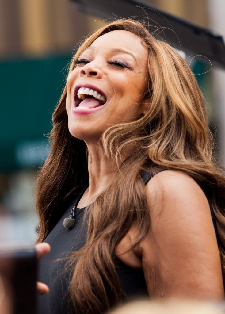 Celebrities at The Grove to do an interview for the show EXTRA in Los Angeles, California on May 23, 2013. Pictured: Wendy Williams