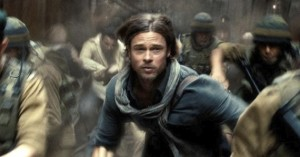 Brad Pitt produces and stars in the Paramount presentation of World War Z.