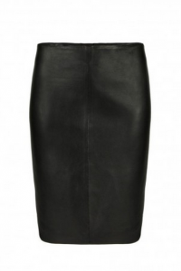 AllSaints Lucille Leather Skirt $320