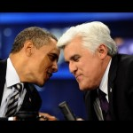 President Obama Visits Jay Leno on 'The Tonight Show' August 6