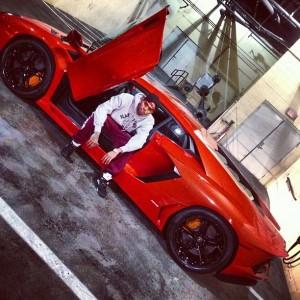 Chris Brown Lambo 2
