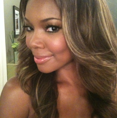 Gabrielle Union (as a Blonde)