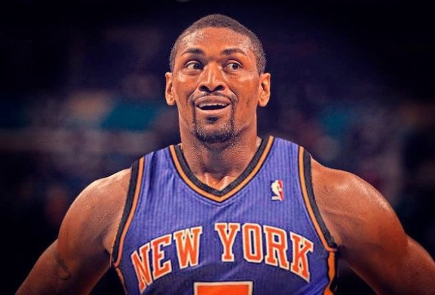 Metta World Peace Knicks