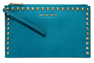 Michael Kors Handbag Selma Stud clutch $108 at Macys.com