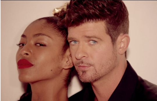"""Robin Thicke has responded to criticism that his hit """"Blurred Lines ..."""