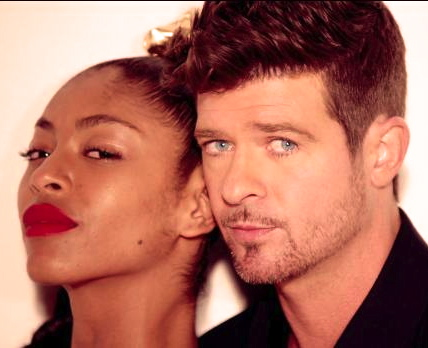 robin thicke (blurred lines)