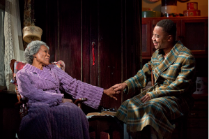 Cicely Tyson and Cuba Gooding Jr., Photo by Joan Marcus Bountiful