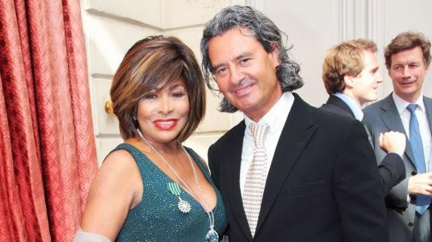 Tina Turner couple