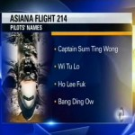 Asiana Plane Crash Has Become the Center of Racist Jokes for News Outlets? (Video)